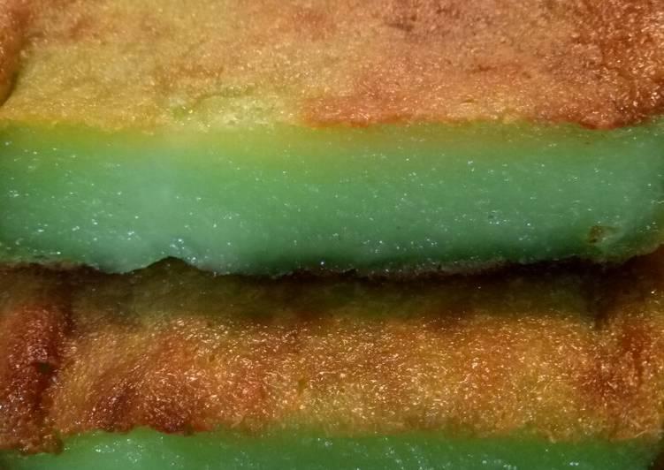 Resep Bingka ubi (cassava cake)