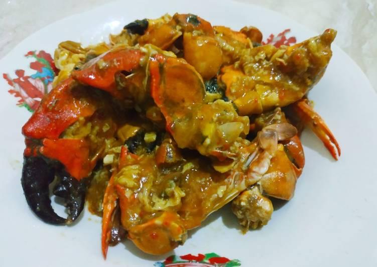 Resep Rajungan & Capit Kepiting Saus Padang