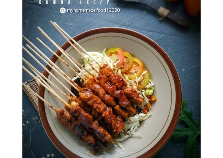 Resep Sate Ayam Bumbu Kecap