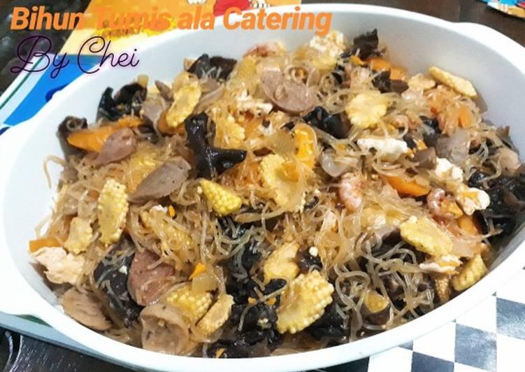 Resep Bihun Tumis ala Catering