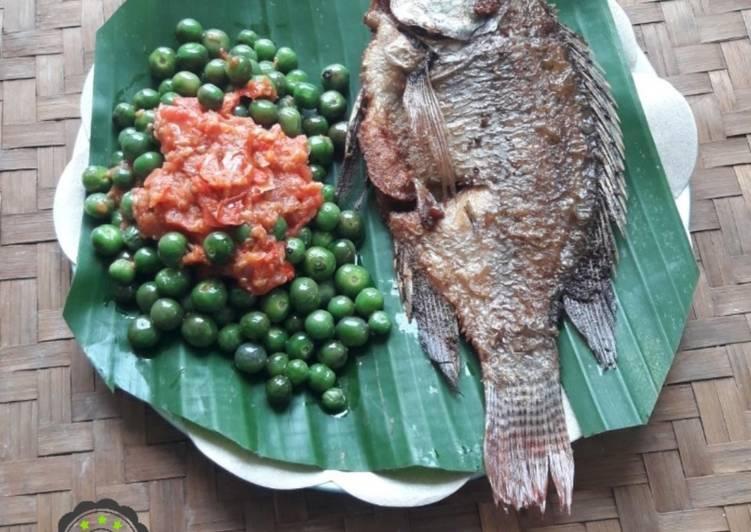 Resep Ikan Goreng Sambal Leunca