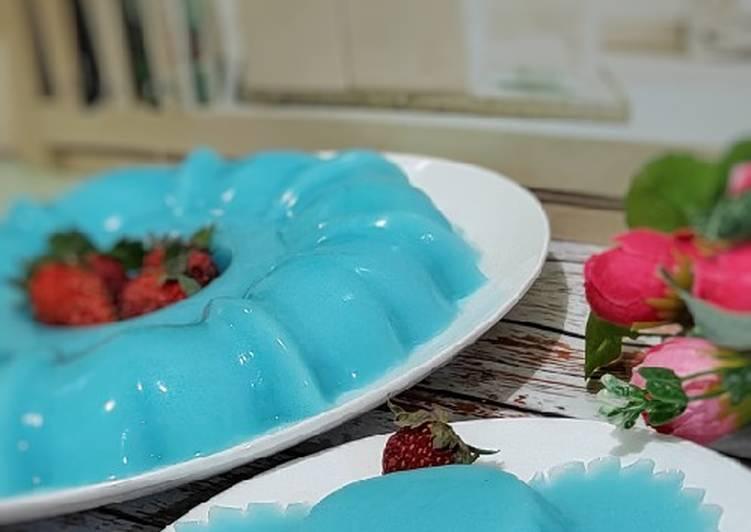 Resep Blue Ocean Jelly