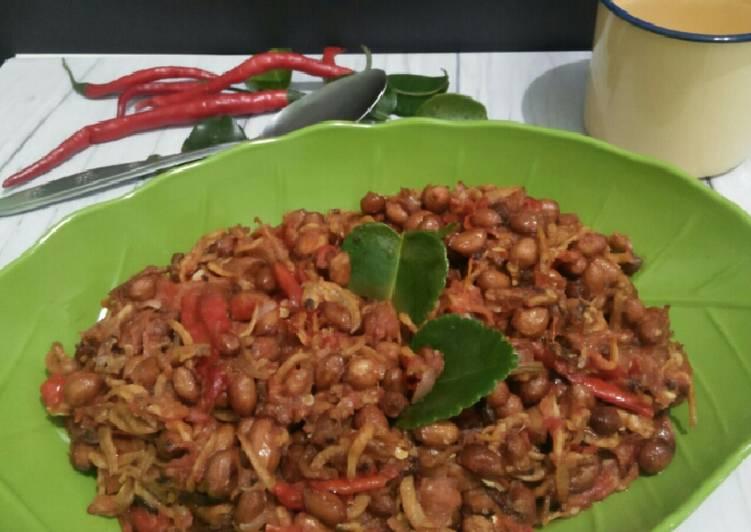 Resep Teri Kacang Sambel ala Medan