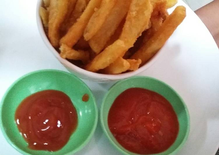 Resep French Fries