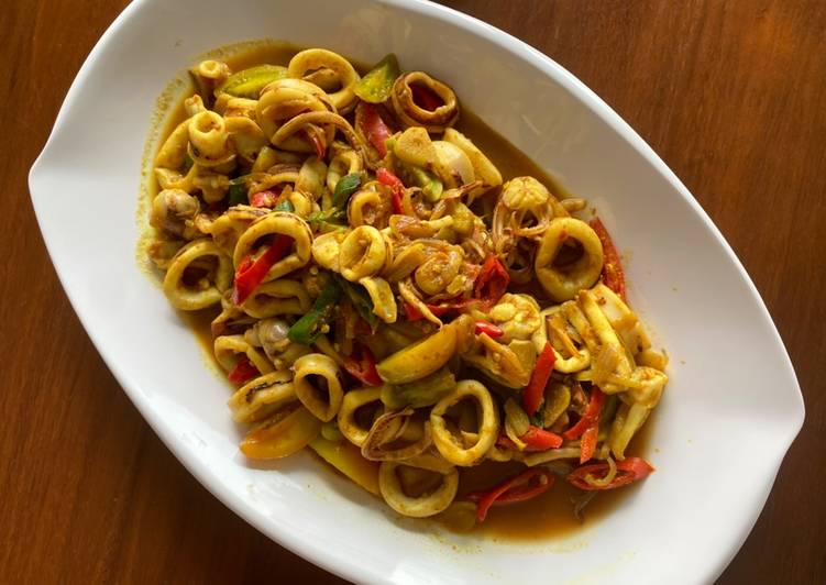 Resep Oseng cumi (agak diet)