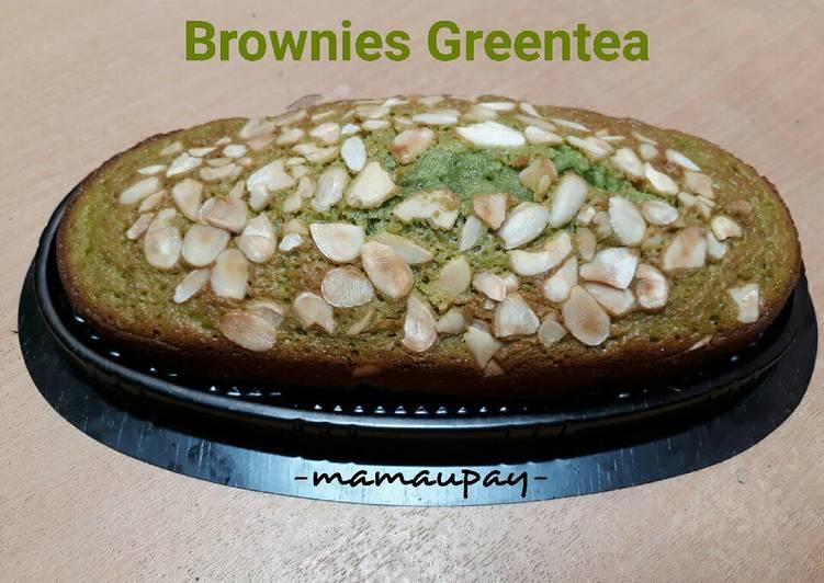 Resep Brownies Greentea