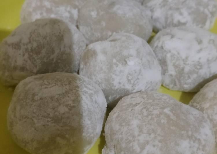 Resep Mochi isi kacang