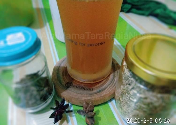 Resep Minuman Rempah Booster ASI