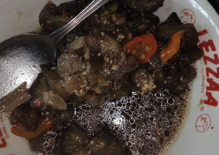 Resep Terong kecap pedess