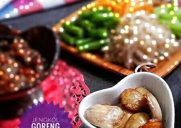 Resep Jengkol Goreng Garam