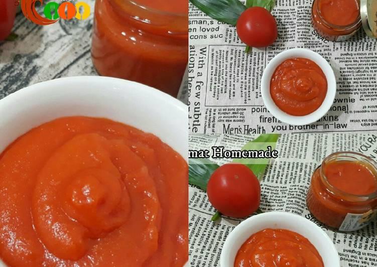 Resep Saos tomat rumahan/Saos tomat homemade