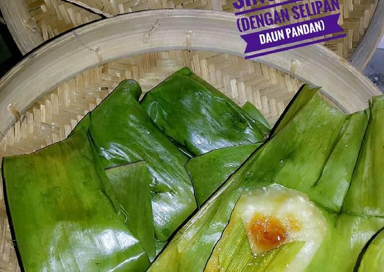 Resep Lemet Singkong (dengan selipan daun pandan)