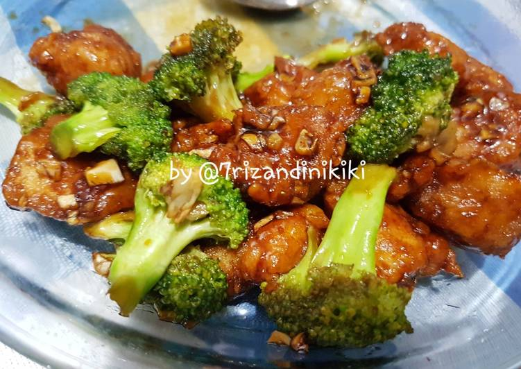 Resep Brokoli ayam oriental