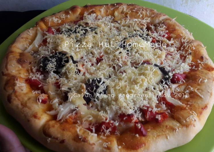 Resep Pizza Hut Homemade