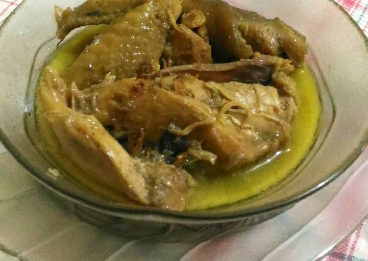 Resep Opor Panggang Ayam Kampung // Part 2