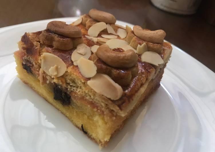 Resep English Cake