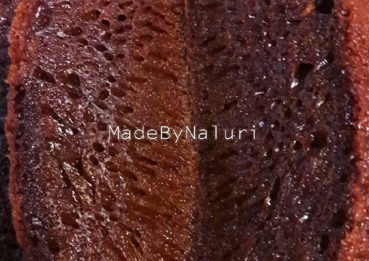 Resep Bolu Karamel / Sarang Semut