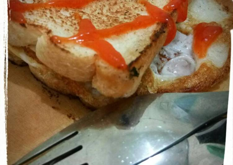 Resep Sandwich Telur Kilat