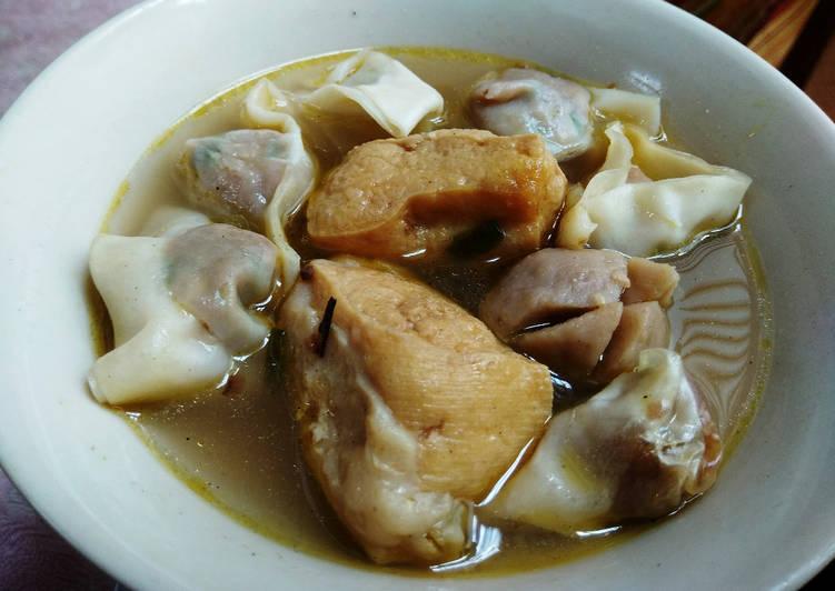 Resep Pangsit Baso Ayam