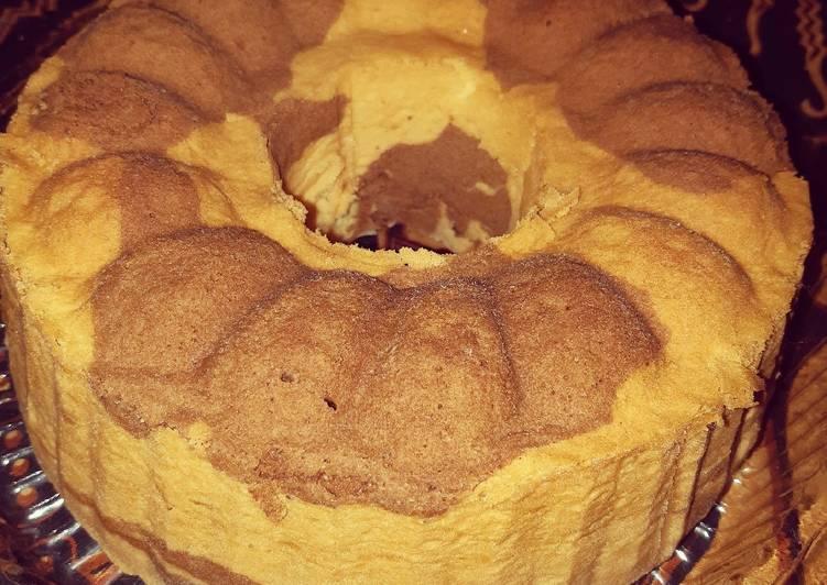 Resep Marmer cake 6 telur