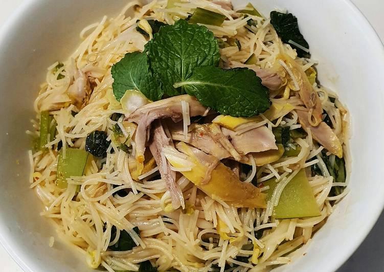 Resep Bihun ayam ala Thai