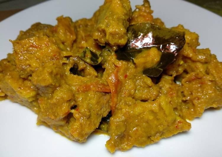 Resep Daging Sapi Bumbu Kuning
