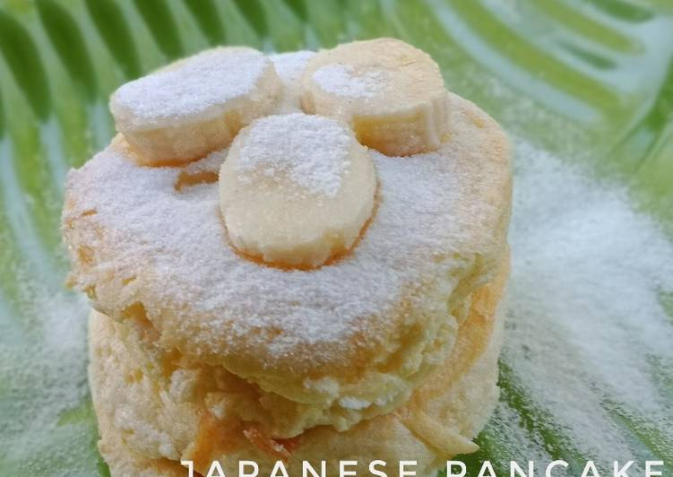 Resep Fluffy Japanese Pancake