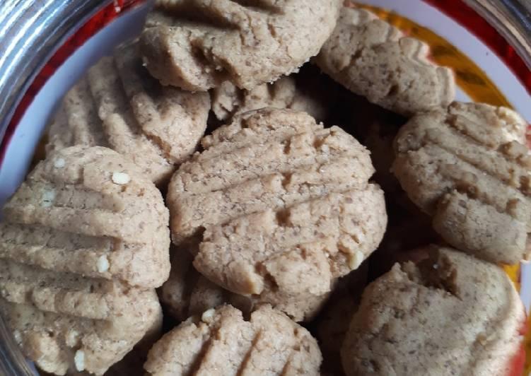 Resep Cookies white coffee