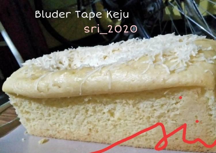 Resep Bluder Tape Keju