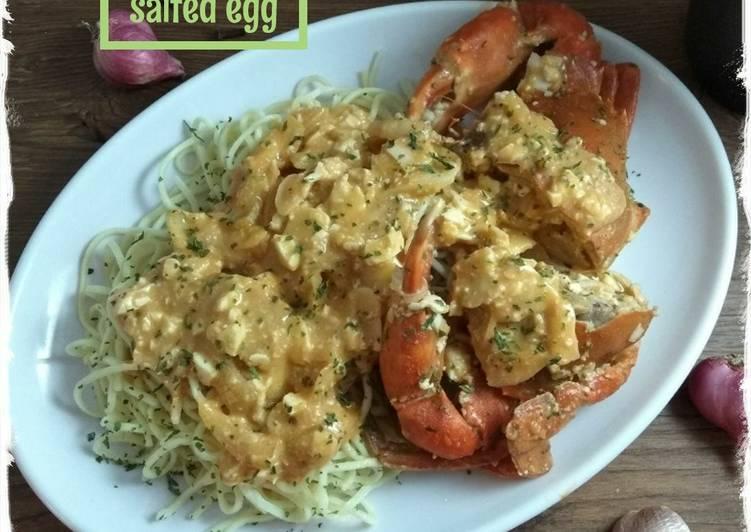 Resep Mie Kepiting Salted Egg