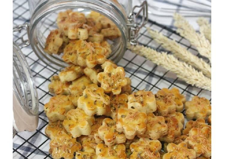 Resep Garlic Cheese Cookies