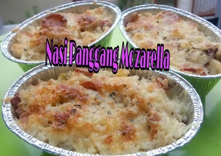 Resep Nasi panggang mozarella
