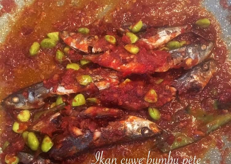 Resep Ikan cue bumbu pete