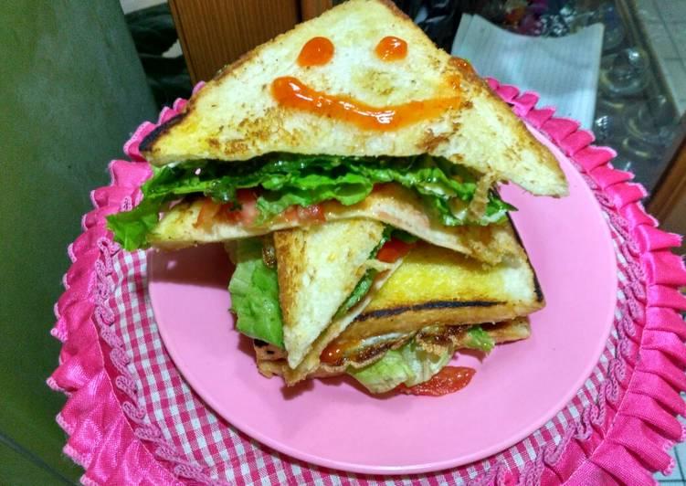 Resep Sandwich Ala Kadar