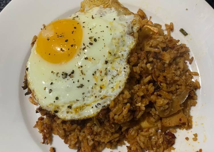 Resep Nasi Goreng Kimchi selera lidah Indonesia