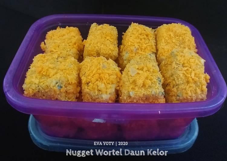 Resep Nugget Wortel Daun Kelor