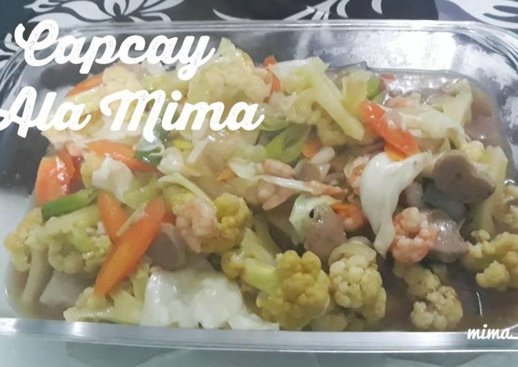 Resep Capcay Ala Mima