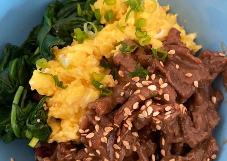 Resep Beef Yakiniku (yoshinoya KW)