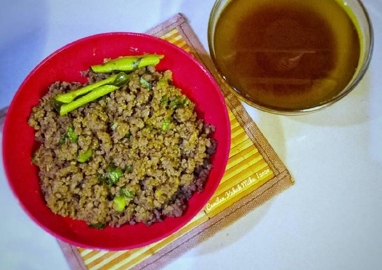 Resep Topping Daging Mie dan Minyak Daging