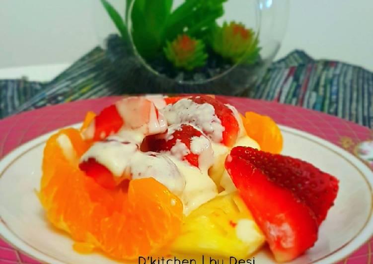 Resep Salad Buah #SaladAction