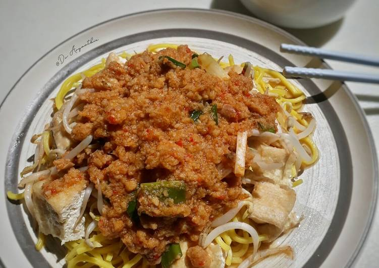 Resep Toge goreng tauco