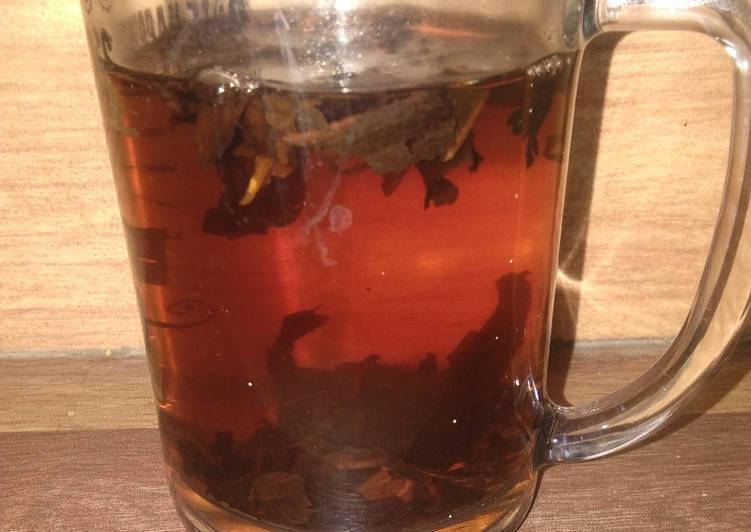 Resep Jasmine Vanilla Powder Tea