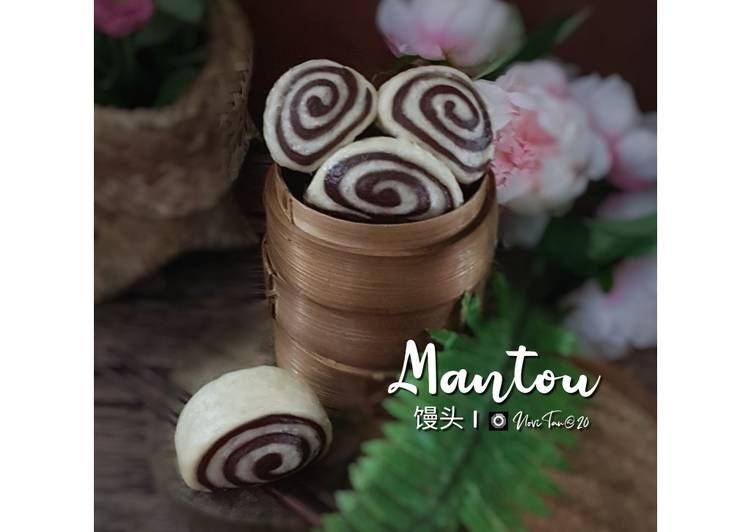 Resep 2Mantou Coklat  