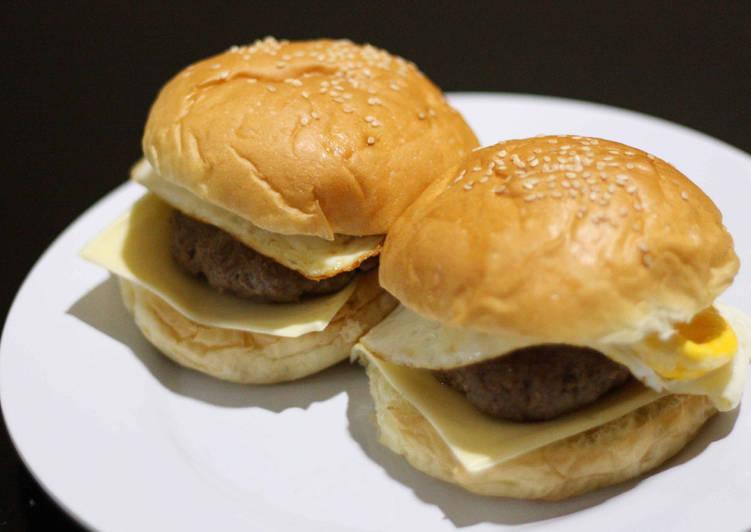 Resep Burger beef super enak