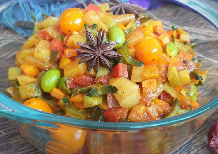 Resep Indian Vegetable Curry