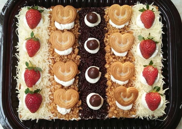 Resep Cake Potong Base Bolu Jadul