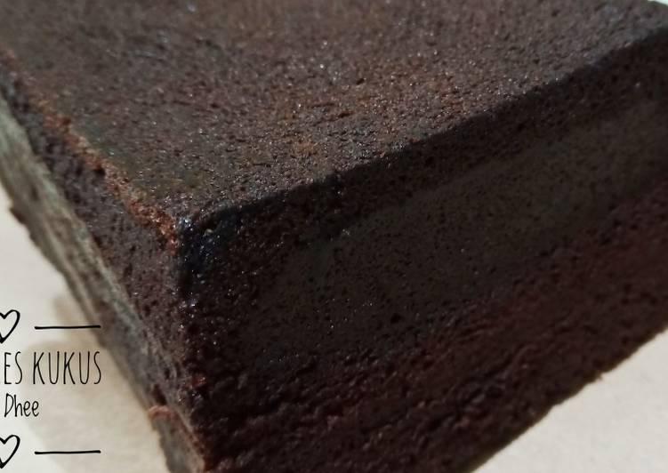 Resep Brownies Kukus (resep Ny.Liem)