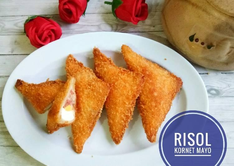 Resep Risol Cornet Mayo