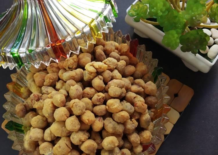 Resep Kacang Telur Renyah