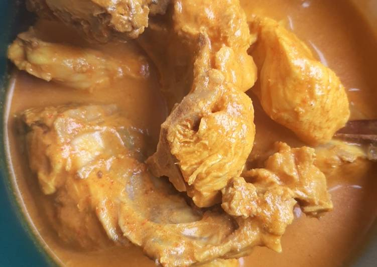 Resep 64.Ayam sayur padang